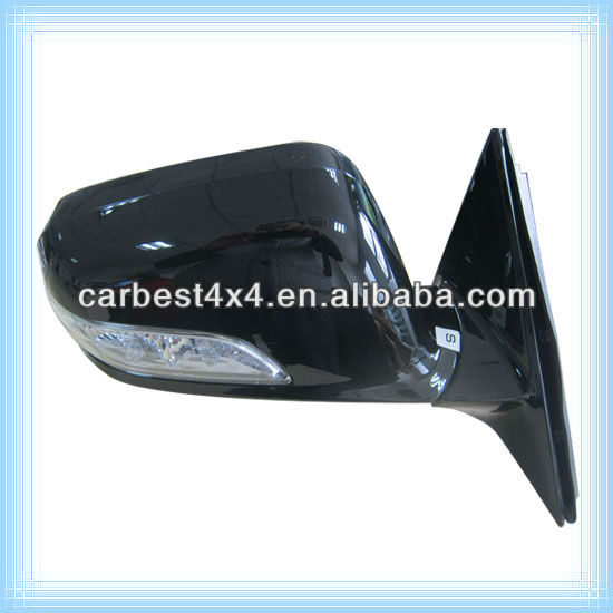 CAR ELECTRIC SIDE MIRROR FOR HONDA ACCORD 2011 (9 WIRE) WITH LED LIGHT R 76200-SDH-41 L 76250-SDH-H41