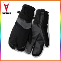 Warmest Glove Waterproof 3 finger design for riding in freezing wet cold winter conditions