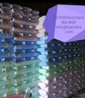 "108"" X 50 YARD HARD NET FABRIC BOLTS"