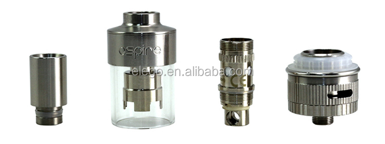 Wholesale Original Aspire Atlantis Glassomizer the russian big rba atomizer