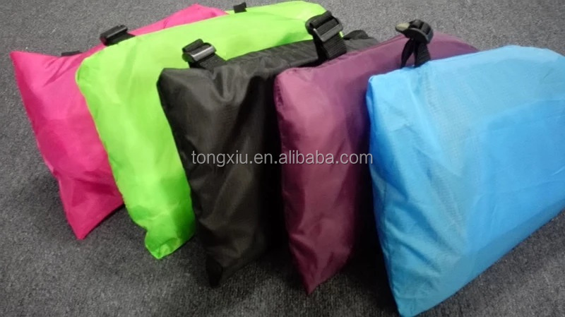 2016 Popular Inflatable Sleeping Bag, Beach Fabric Inflatable Airbed Laybag