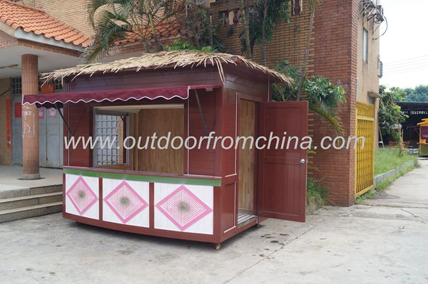 2015 Outdoor street wooden outdoor Vending Kiosk/ Vending Booth/mobile food kiosk for food/ coffe/ice cream