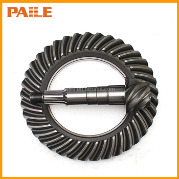 Crown wheel and pinion gear set for MITSUBISHI 6D15 L300D engine pickup tractor truck bus car MC806120 6*40