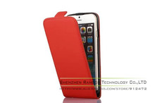 Flip PU Leather Magnetic Closure Vertical Case Cover Hard Shell Pouch Coque Capas for iPhone 4S 5S 5C 6 4.7