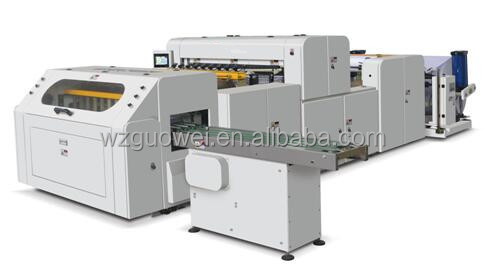GW-J1100 Full Automatic Cross A4 Paper Cutting Machine For Sale