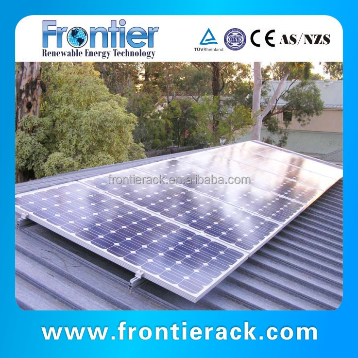 frontier Solar Tin Roof Mount System