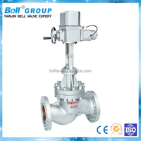 electric angle globe valve drawing for water