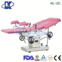 surgical instrument gynecology obstetric table mechanical gynecology table gynecology labor and delivery beds