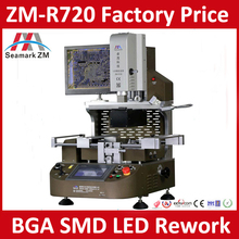 2016 Latest Automatic Optical Alignment BGA Rework Station ZM-R720 for BGAs QFPs VGAs SMD LEDs Removal Mounting Soldering