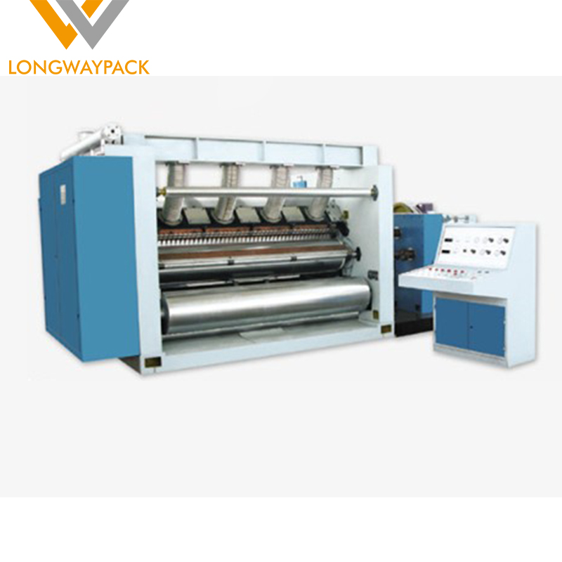 2 layer cardboard making machine monolayer fingerless flute paper corrugator single facer