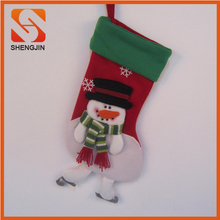 Cheap Wholesale Christmas decorating gift stocking Santa socks