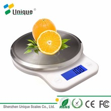 2017 hot sale electric mini portable digital kitchen and food electronic scale 5kg