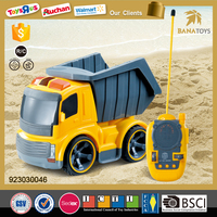 Hot item 4x4 construction rc truck for sale