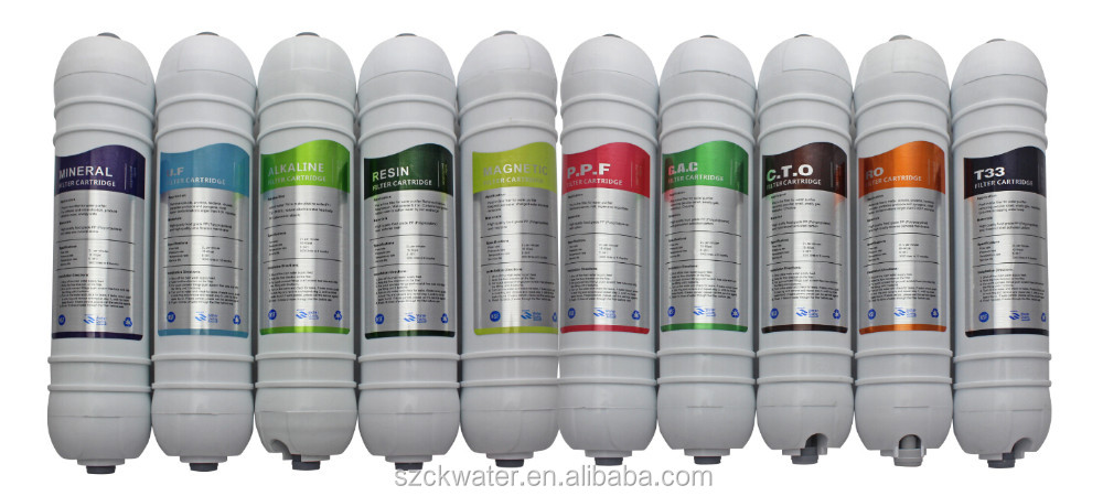quick connect inline filter cartridge T33