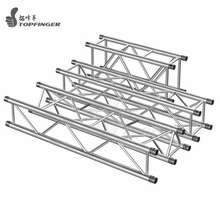 FT44 global stand spigot aluminum triangle bolt curved roof dj booth truss for lighting