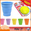 RENJIA silicone collapsible cup promotion gift silicone collapsible custom foldable cup