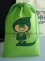 Colours Shopping Drawstring Non woven Bags