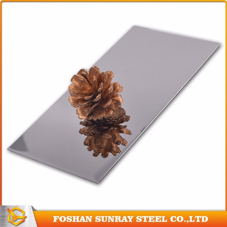 0.5mm thick mirror finish stainless steel sheet/plates