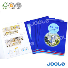 A4 A5 B3 B5 size hard cover board book magazine promotional booklet full color printing