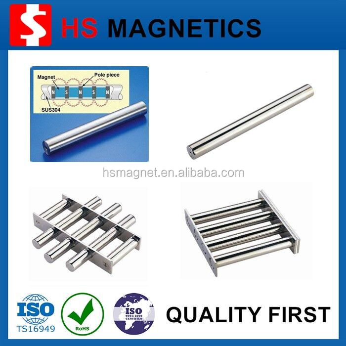 Super Strong 10000 Gauss Neodymium Magnetic Rod Steel Rod Prices