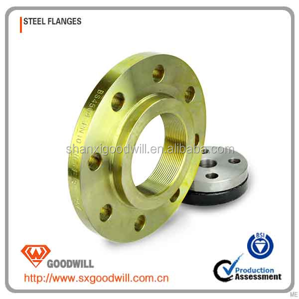 thin wall steel flange for tubing