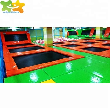 Chinese manufacturer sport play fitness gym trampoline equipment for adult
