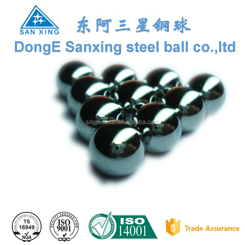wholesale high polished stainless steel balls for plastic hardware