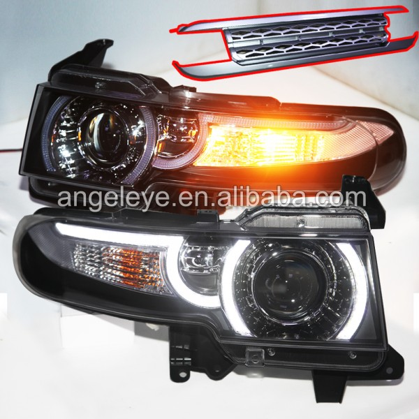 Led headlights for toyota FJ cruiser Bi Xenon Projector Lens front lights 2007 to 2014