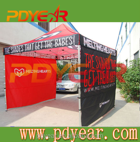 Flame retardant design tents, top roof tents for events, canvas printed tents by Victoria