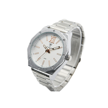 Luxury quartz wrist watch fitting men and women of big size watches