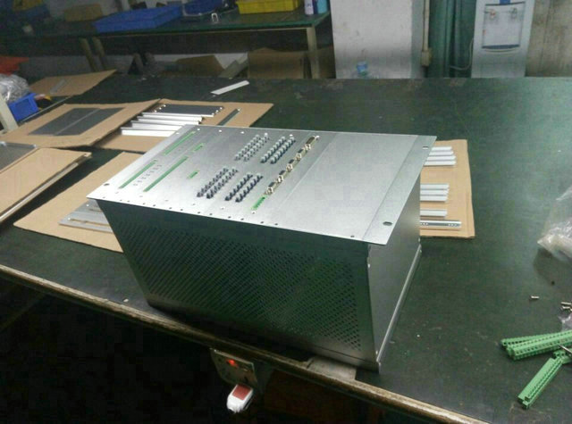 "subrack 7u/ 311* 483*free 19"" standard server aluminum subrack Silver or Customize colors monitoring oem size"