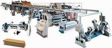 automatic corrugated paperboard production line/Double Facer (Binding & Drying Part)
