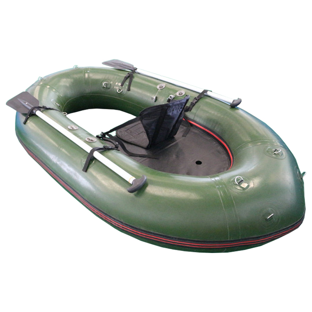 High quality CE approval float tube pvc boat inflatable pontoon fishing boat,one person inflatable fishing boat