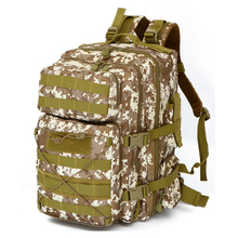 fashion 3-way hiking army air flow ventilation travel bag black military backpack