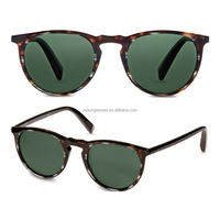 2016 new novelty sunglasses Acetate Frames aviator sunglasses model