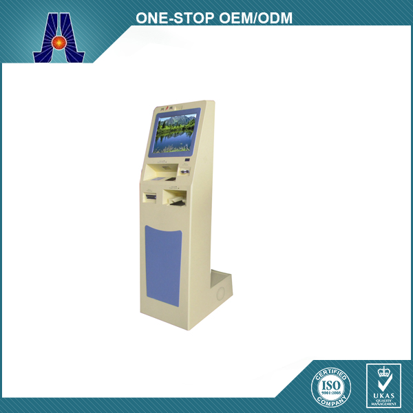 ATM Machine And Mutli Payment Solution Kiosk With Cash Dispenser