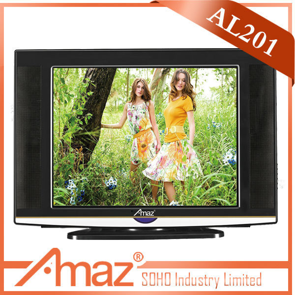 2013 popular newest design crt television with best price