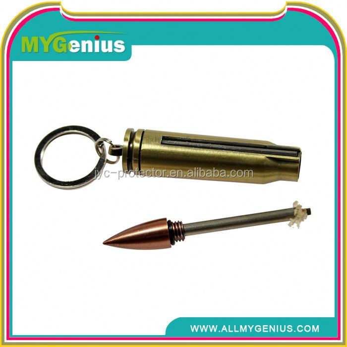 match boxes safety match boxes ,H0T067 outdoor waterproof bullet match lighter with key ring