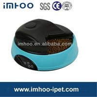 Hot 4 Meal LCD Automatic Pet Feeder fishing cage feeder
