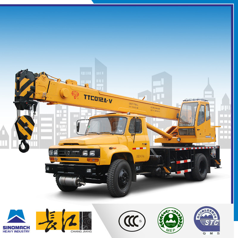 model TTC012A-V Telescopic Mobile Crane,Mobile Crane 12T,Telescopic Boom Loader