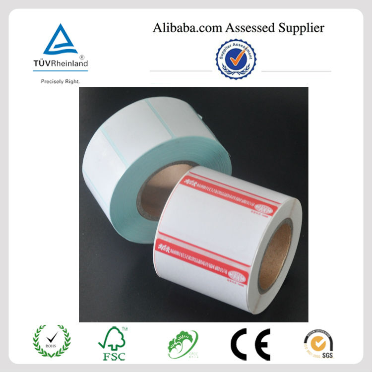 Self Adhesive laminate supermarket thermal labels