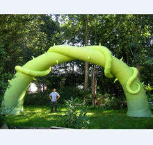 Advertising giant inflatable wheel plant arch flares universal