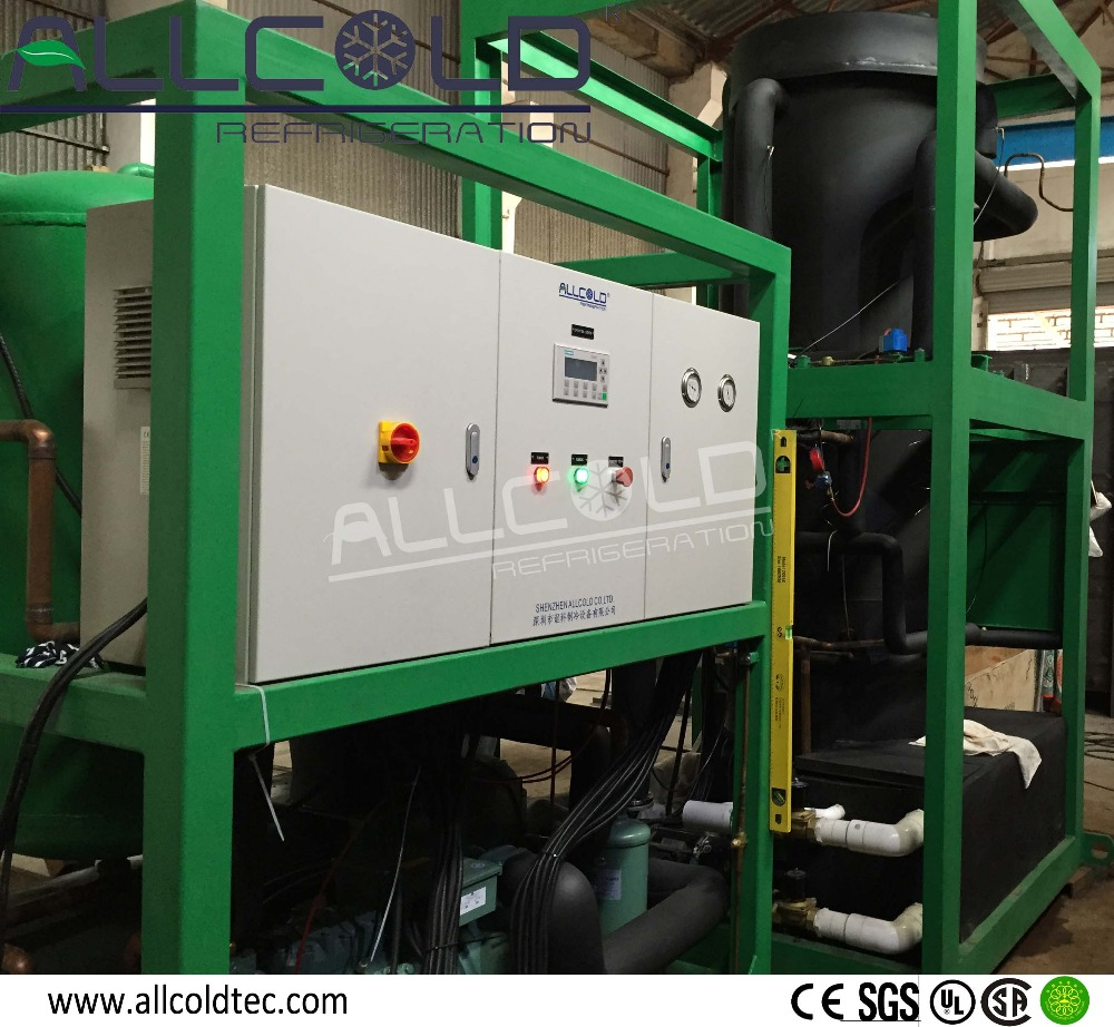 Industrial Tube ice machine For Chemical Cooling