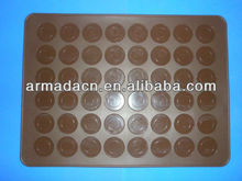 48Cavities Large Size Silicone Macaron mat with large stock!!!