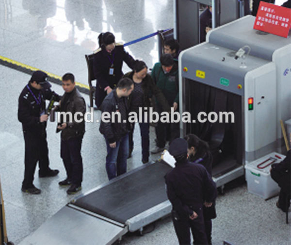X Ray Baggage Scanner Machine with 500(W) *300 (H) Tunnel Size MCD-5030A
