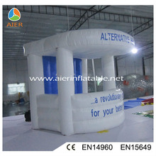 Blue inflatable booth for display,trade show