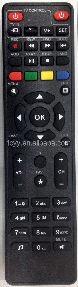 LEARNING REMOTE CONTROL GTPL HD STB with TV LEARNING and Whole PVC sticker
