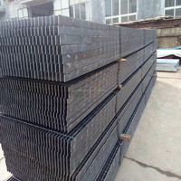 electrical forged steel rod bar or twisted squared bar welding on the top of steel bar flat