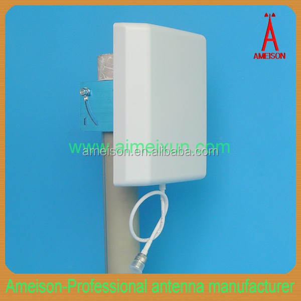 AMEISON 698 - 2700 MHz Directional Wall Mount Flat Patch Panel DAS 10 dBi long rang wireless antenna