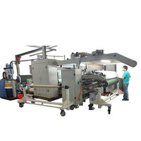 SJ-FMZ1001 PUR Hot Melt Adhesive laminating machine for Fabric/film